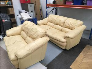Leather sofas in Tadley