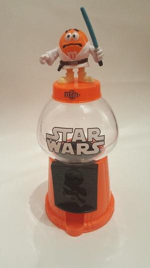 M&M M&M Star Wars Luke Skywalker Coin Bank Gumball Machine