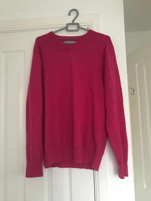 Men's pink jumper - size L