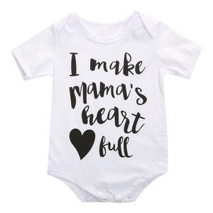Newborn Kids Baby Boy Girls Cotton Romper Jumpsuit Playsuit