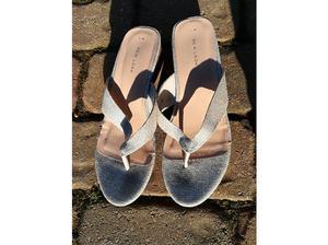 Pair of good Virtually Unused Ladies Sandal Shoes Size 7 New