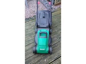 Qualcast electric lawnmower in Sleaford