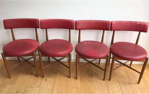 Set of four Vintage Teak GPLAN G PLAN Dining Chairs