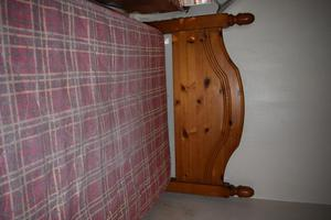 Solid Pine Single Bed & Mattress (PRICE REDUCED)