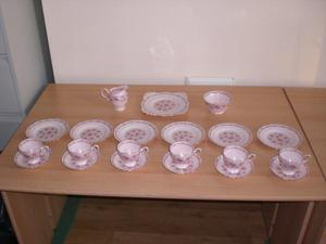 Tea Set - Tuscan Fine English Bone China.