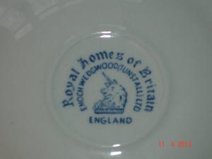 Wedgwood, Enoch Royal Homes of Britain Tea Saucer