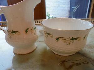White ceramic cake stand bone china coffee set