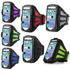 t- Premium Running Jogging Sports Mesh Armband Gym Case