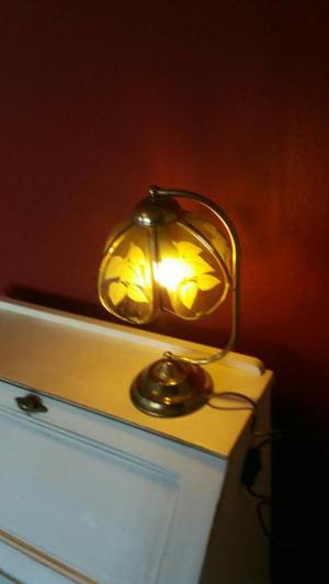 4 vintage table lamps.