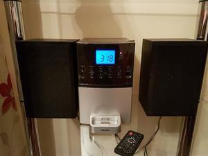 Bush Ipod dock mini CD player radio
