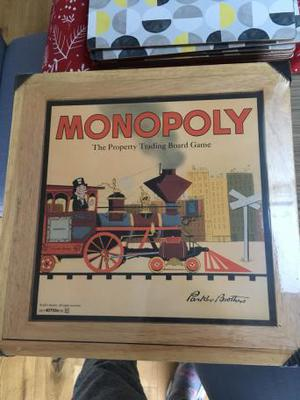 Monopoly nostalgia board game edition