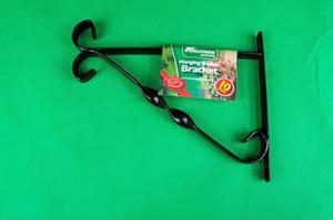 Flower Basket Hanging Brackets : Winter or spring hanging basket brackets at posot class