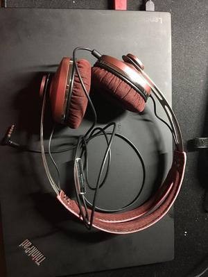 Sennheiser Momentum 1.0 On-Ear Headphones - Pink, very good