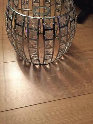 Sparkly lampshade