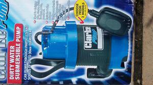 Submercible water pump