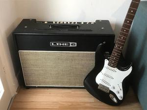 Vintage guitar amp Line 6 Flextone III