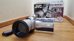 """""""reduced"""" jvc camcorder with all accessories and extras now only £110"""