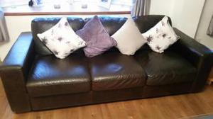2 off 3 seater settees