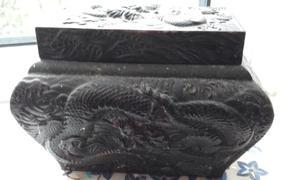 Antique Japanese Antimony Box