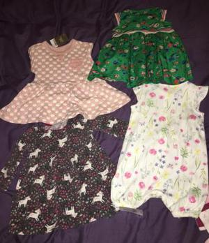 Baby girl 3-6m dresses some with tags