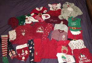 Baby girl clothes 6-9m Christmas bundle