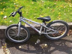 """Boys Grey Apollo Bike - 20"""" wheels - age 5-8"""