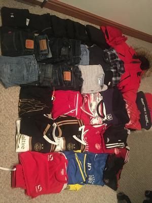 Bundle of boys clothes - aged