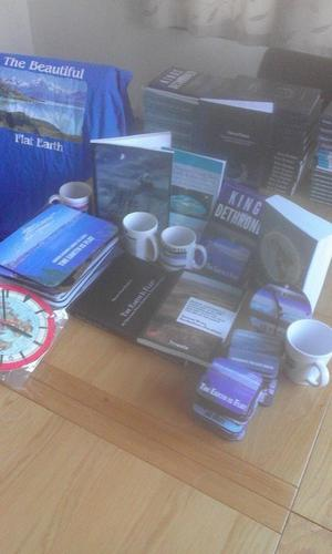 FLAT EARTH BOOKS FOR SALE