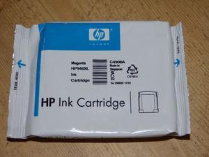 HP Ink Cartridges HP940XL Cyan & Magenta