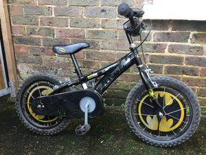 Halfords Batman bike