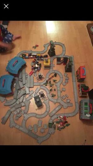 Huge job lot Thomas train set