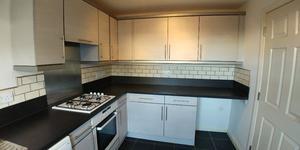 Kitchen - Units, worktop, sink, taps, oven, hob, extractor