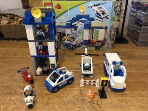Lego duplo police station and prison van