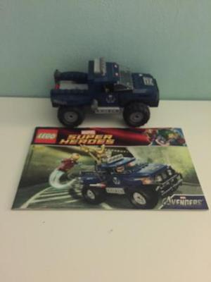 Lego  marvel super heroes shield jeep