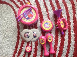 Peppa pig musical instrument set