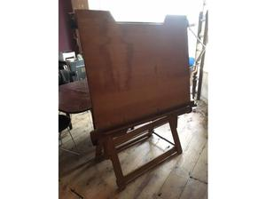 Pine drawing Easel Norton and Gregory Ltd in Hastings