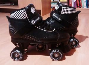 Rio Roller Derby Style Quad Skates - Size 7