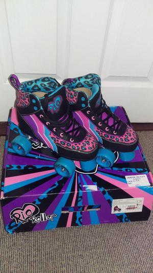 Rio roller skates uk size 3 brand new in box