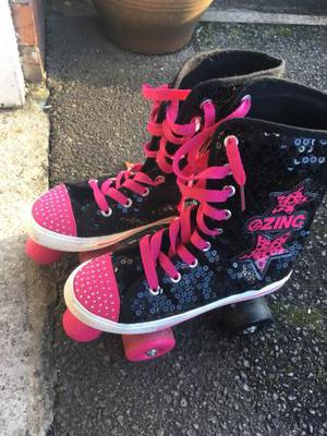 Size 4 roller skates
