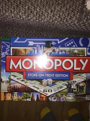 Stoke-On-Trent Monopoly board game