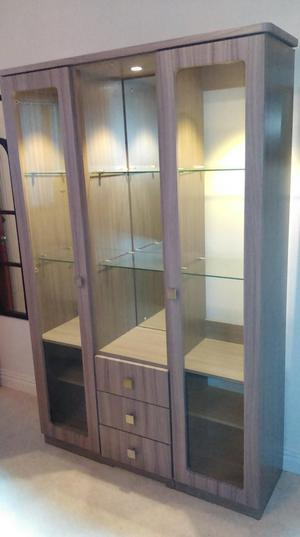 Tall modern display cabinet