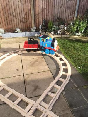 Thomas the tank engine motorised train and track