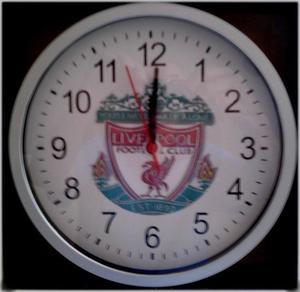 Unwanted Chistmas Present. Liverpool FC Wallclock