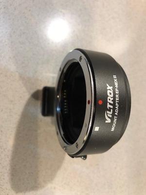 VILTROX EF-NEX II Canon EF Lens To Sony NEX Cameras
