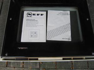 neff built in electric oven/grill single cavity