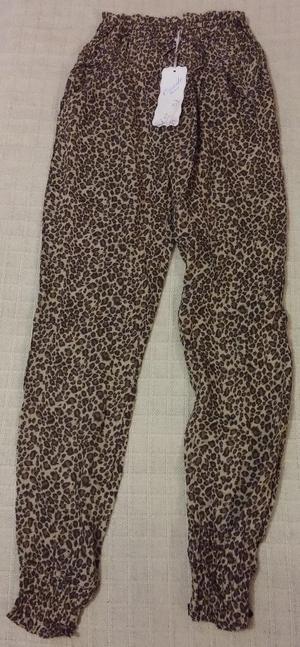 BNWT Onado Fashion Ladies Print Style Trousers Size 10 app