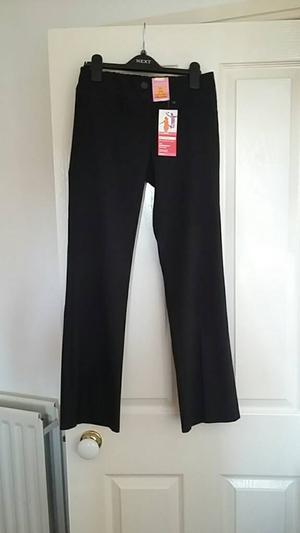 Black girls school trousers Age 11