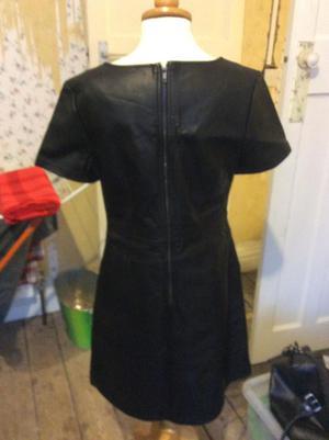 New pvc shift dress