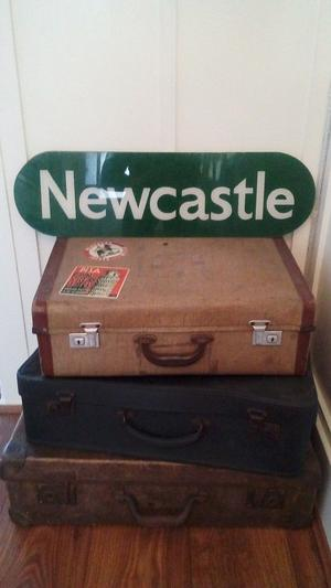 Newcastle Transport Sign