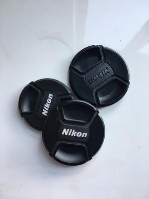 Nikon lens caps